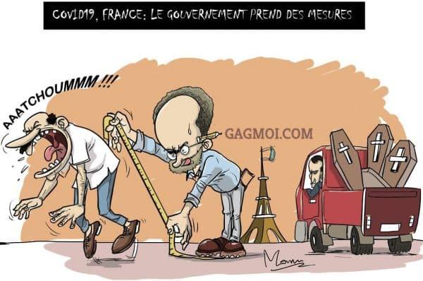 le gouvernement prend des mesures