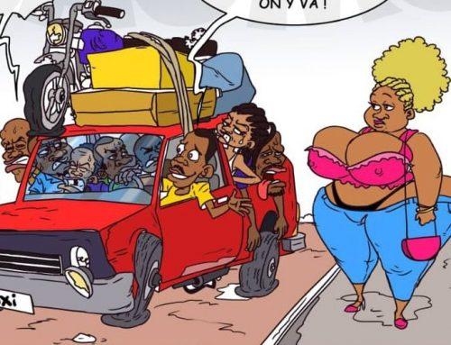 Taximan connaît pas coronavirus en Afrique !