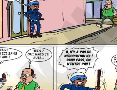 Un Gaou à Paris : N°33 – Un agent de sécurité pragmatique